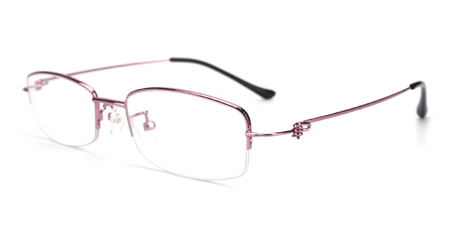 Elise-Pink-Rectangle-Metal-Eyeglasses-detail