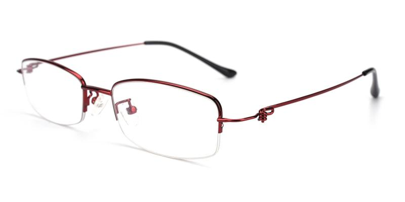 Elise-Red-Eyeglasses