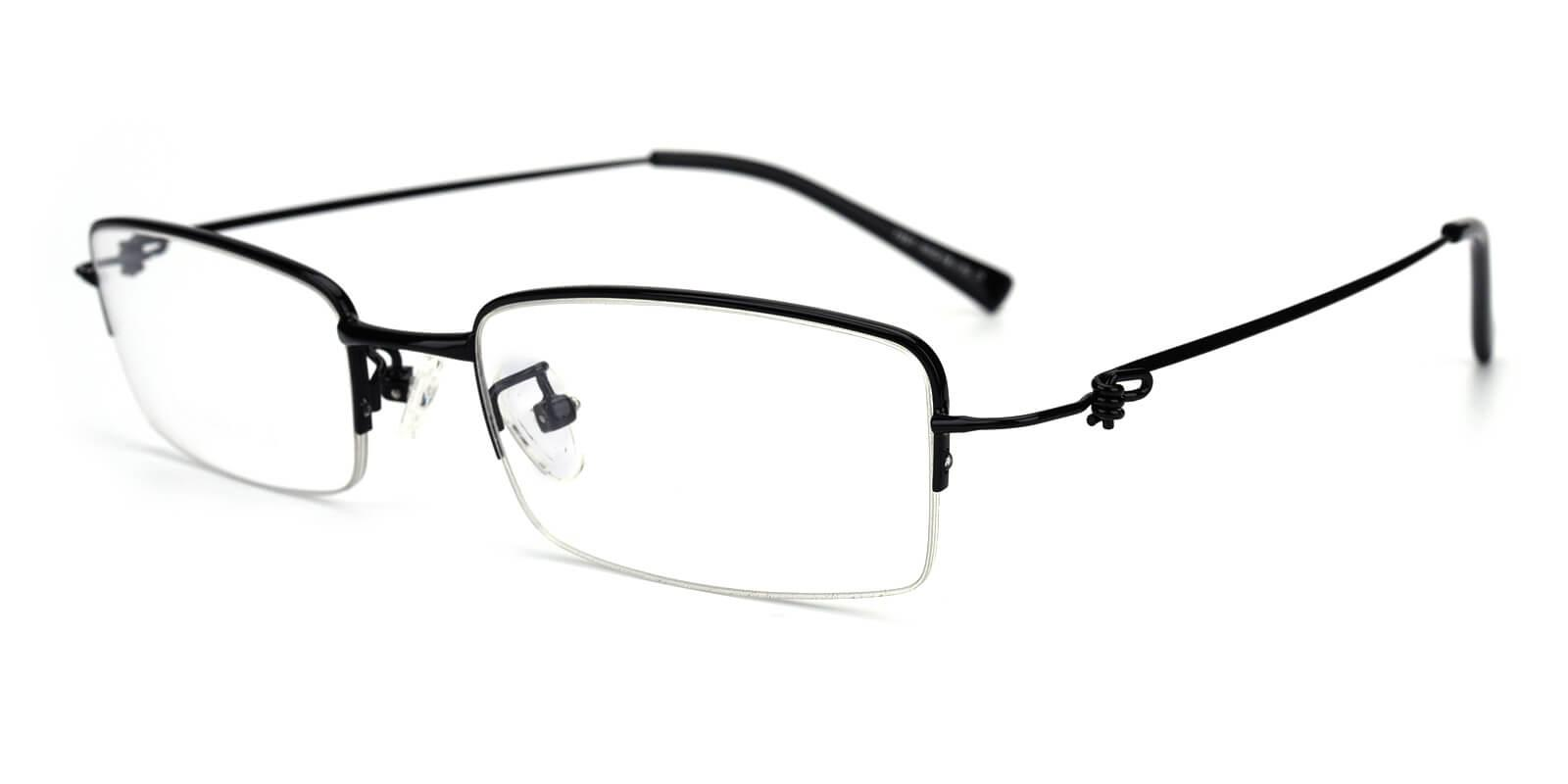 Rector-Black-Rectangle-Metal-Eyeglasses-additional1
