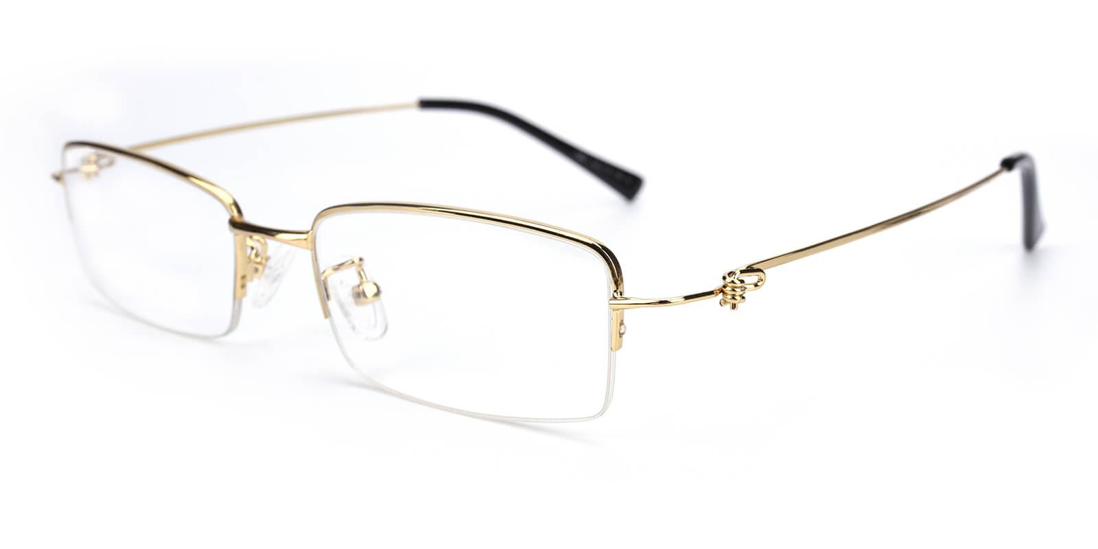 Rector-Gold-Rectangle-Metal-Eyeglasses-additional1