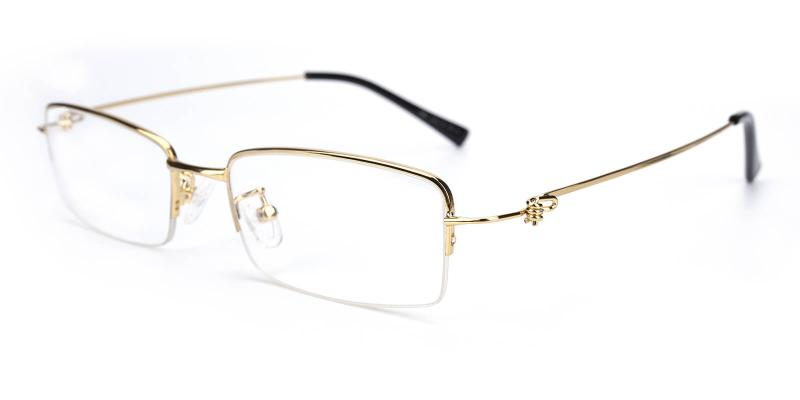 Rector-Gold-Eyeglasses
