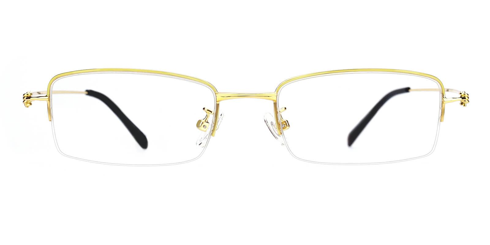 Rector-Gold-Rectangle-Metal-Eyeglasses-additional2
