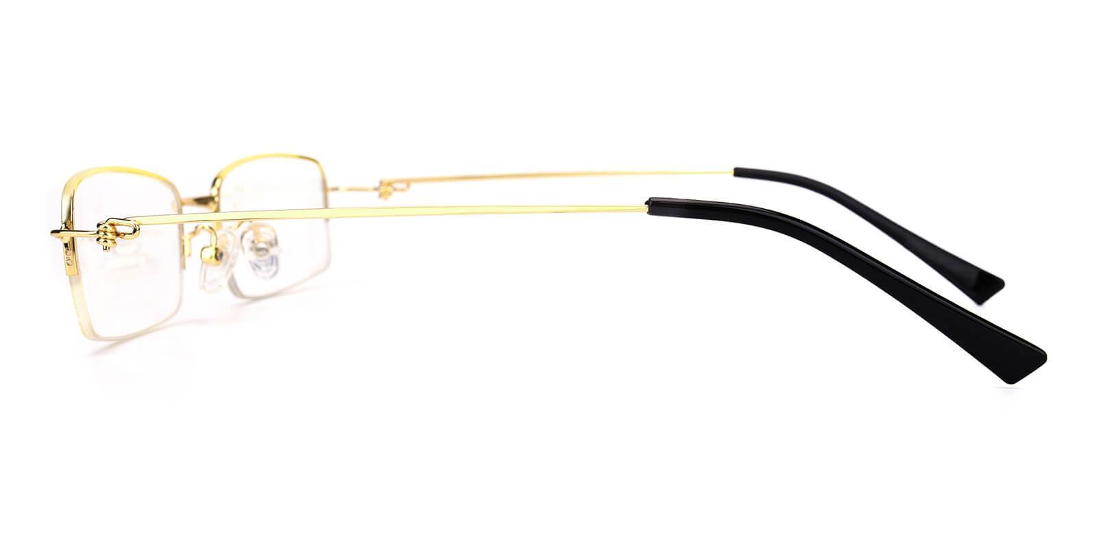 Rector-Gold-Rectangle-Metal-Eyeglasses-additional3