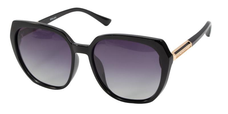Adela-Black-Sunglasses / UniversalBridgeFit