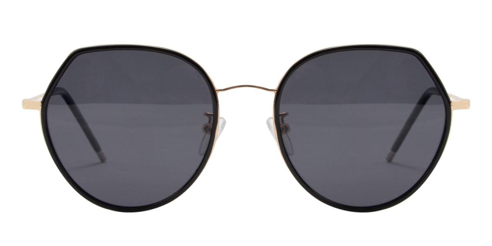 Sleeker-Black-Round-TR-Sunglasses-detail
