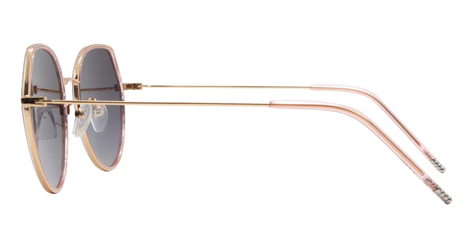 Sleeker-Pink-Round-TR-Sunglasses-detail