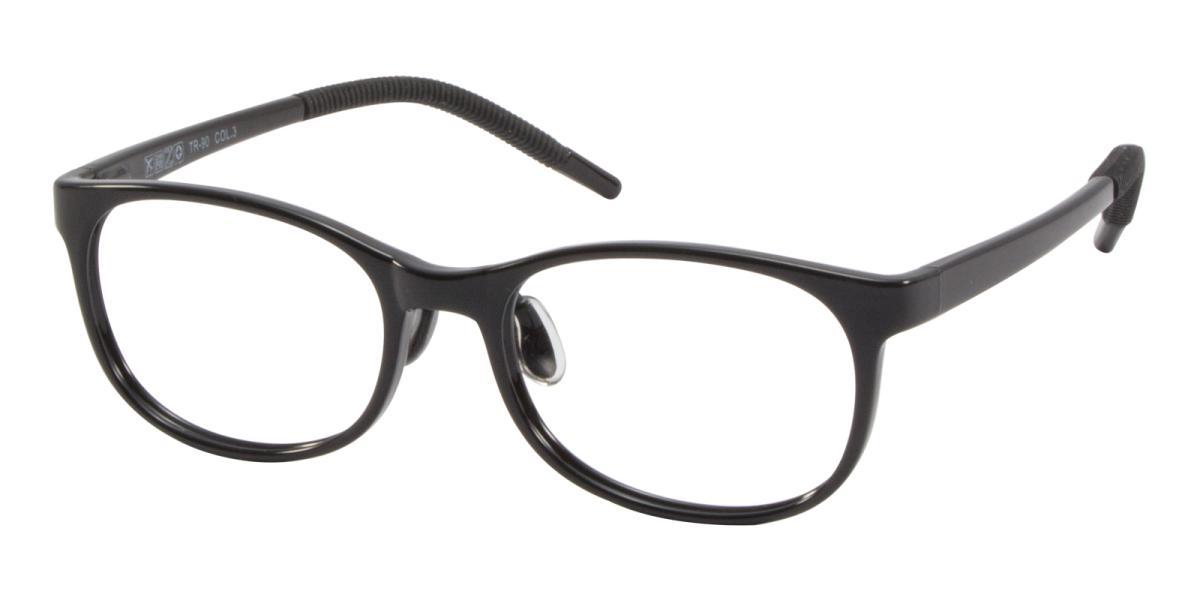 Rosekey-Black-Square-Acetate-Eyeglasses-additional1
