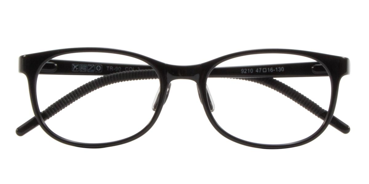 Rosekey-Black-Square-Acetate-Eyeglasses-detail