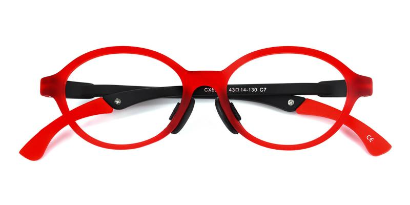Morestar-Red-Eyeglasses