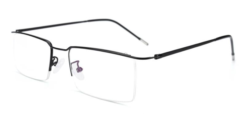 Wit-Black-Eyeglasses
