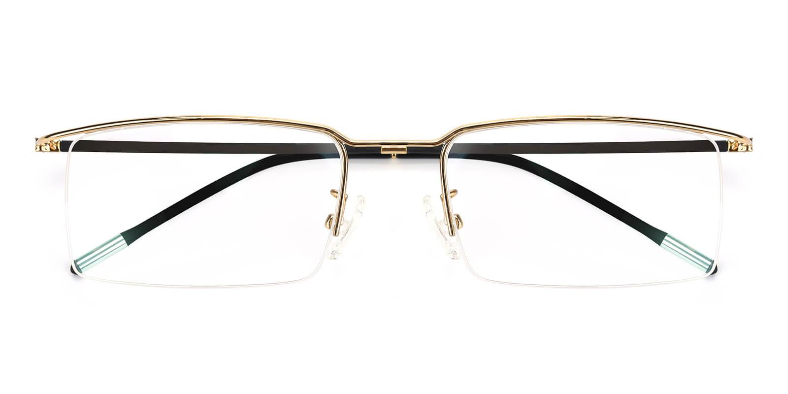 Wit-Gold-Rectangle-Metal-Eyeglasses-detail