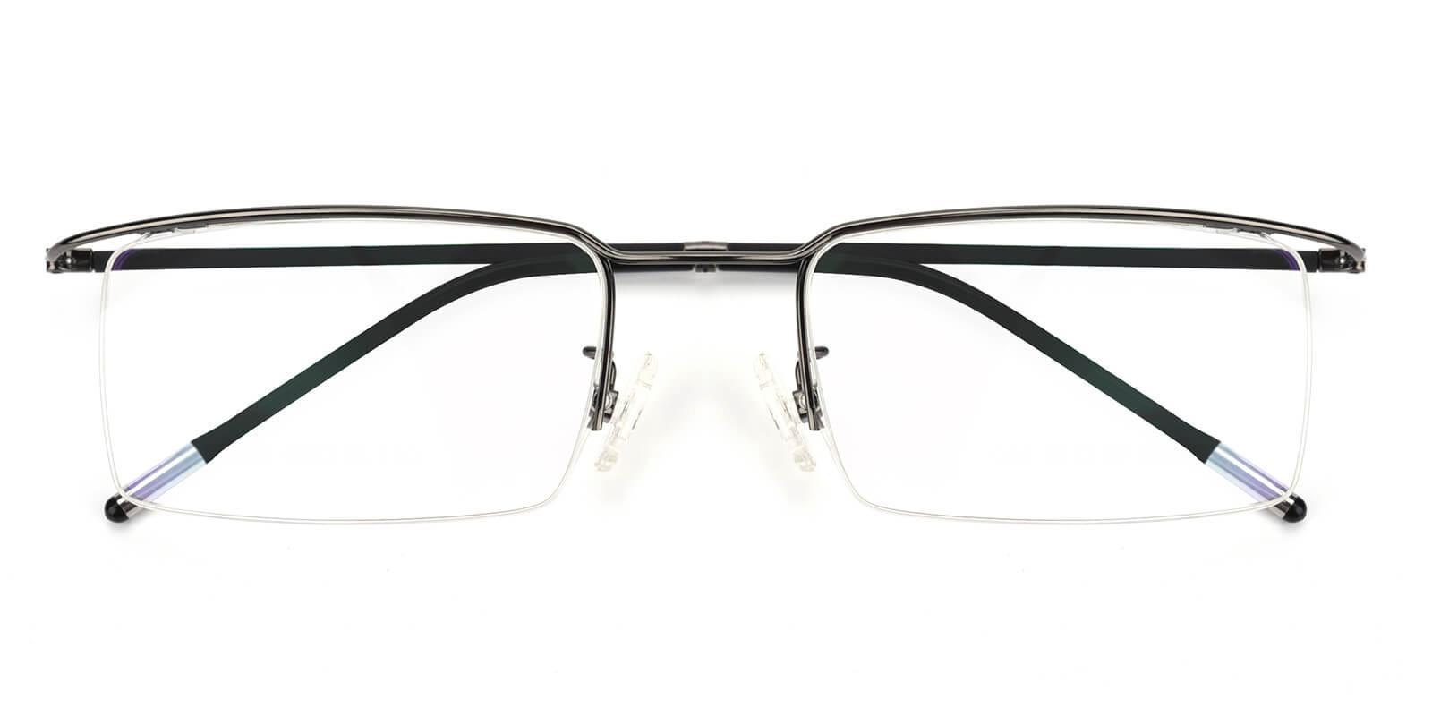 Wit-Gun-Rectangle-Metal-Eyeglasses-detail