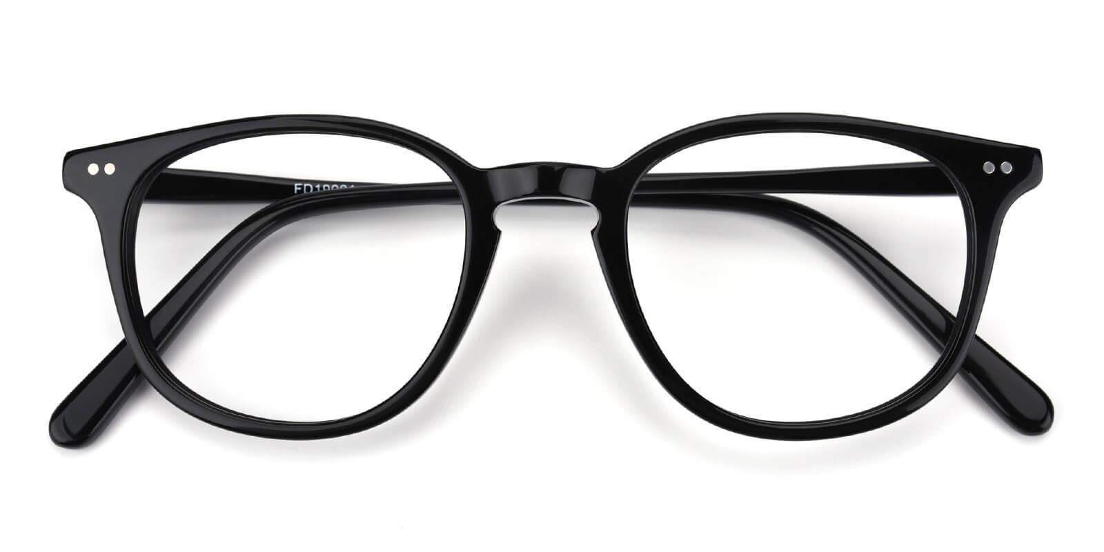 Trendiary-Black-Square-Acetate-Eyeglasses-detail