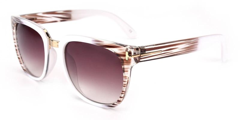 Vamp-Striped-Sunglasses / UniversalBridgeFit