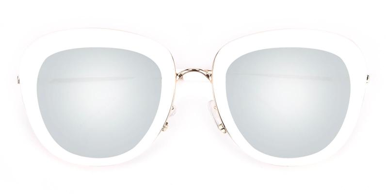 Eleanor-White-Sunglasses