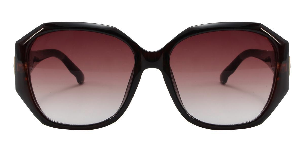 Sevilla-Brown-Cat / Geometric-Acetate-Sunglasses-additional2
