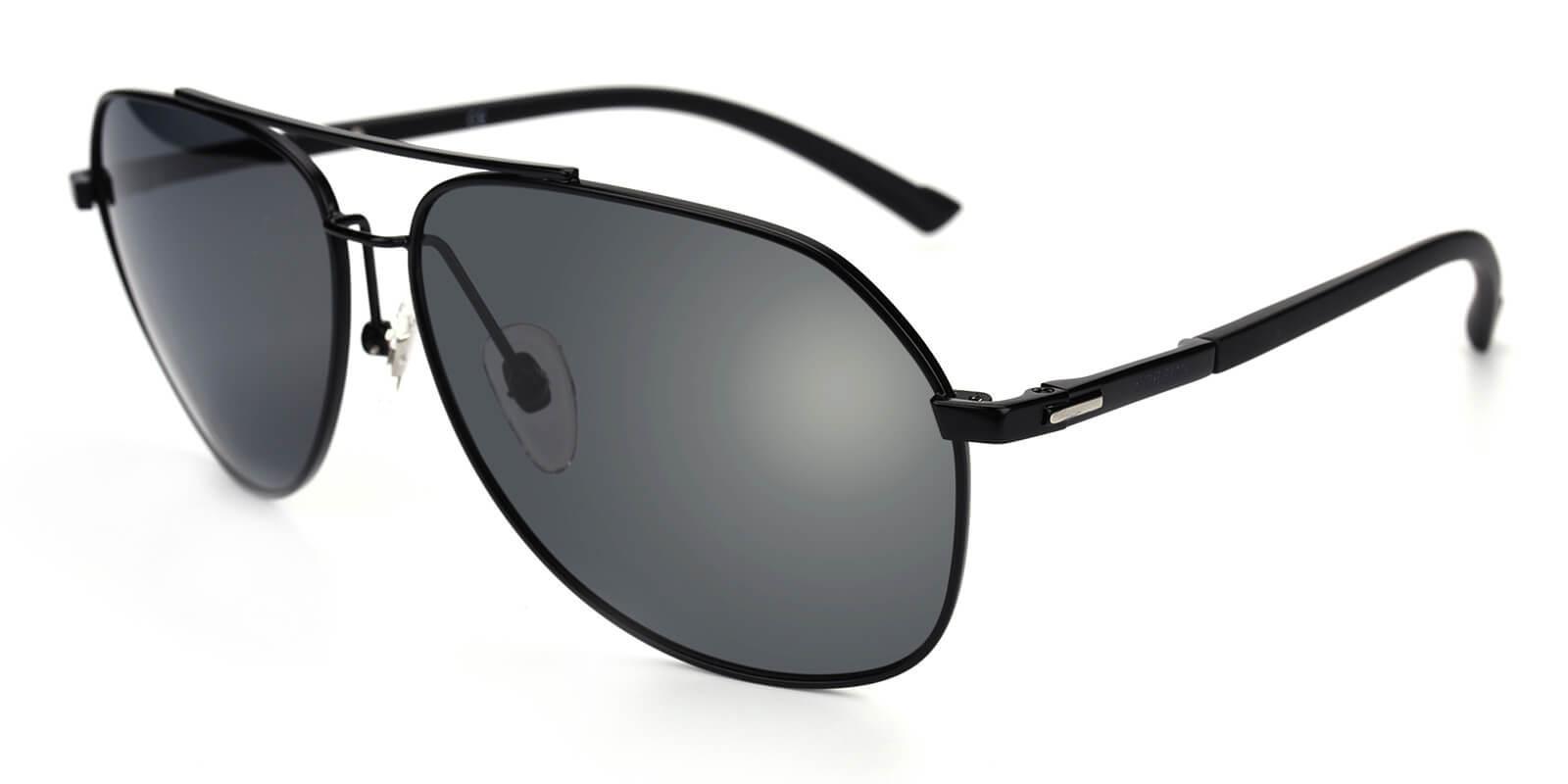 Domi-Black-Aviator-Metal-Sunglasses-additional1