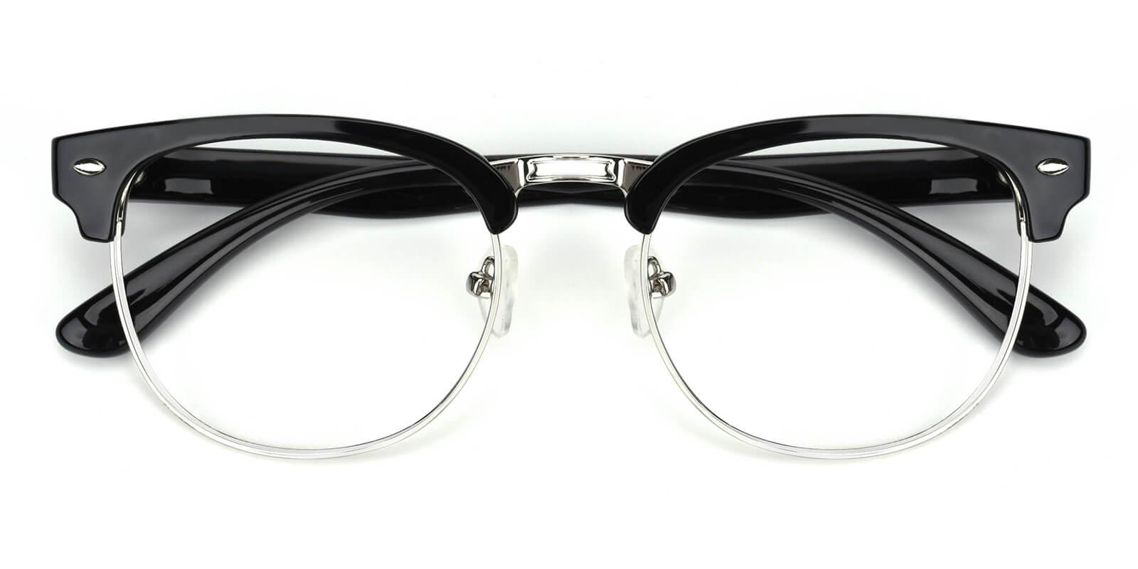 Christian-Black-Browline-Metal / TR-Eyeglasses-detail