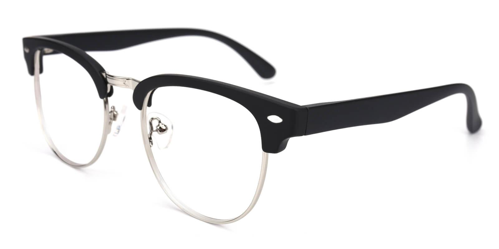 Christian-Gray-Browline-Metal / TR-Eyeglasses-detail