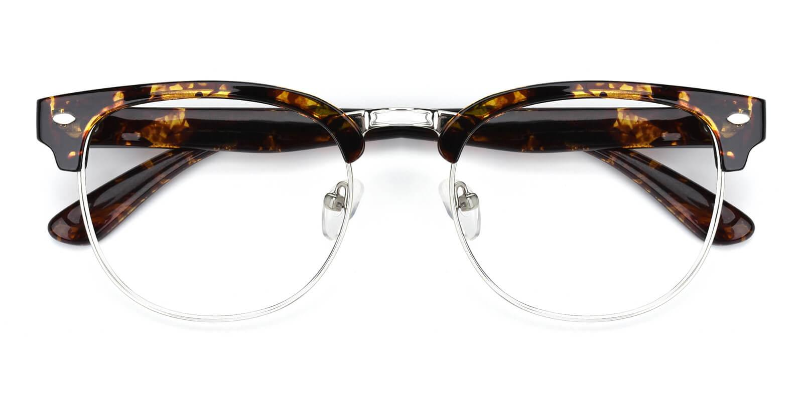 Christian-Pattern-Browline-Metal / TR-Eyeglasses-detail