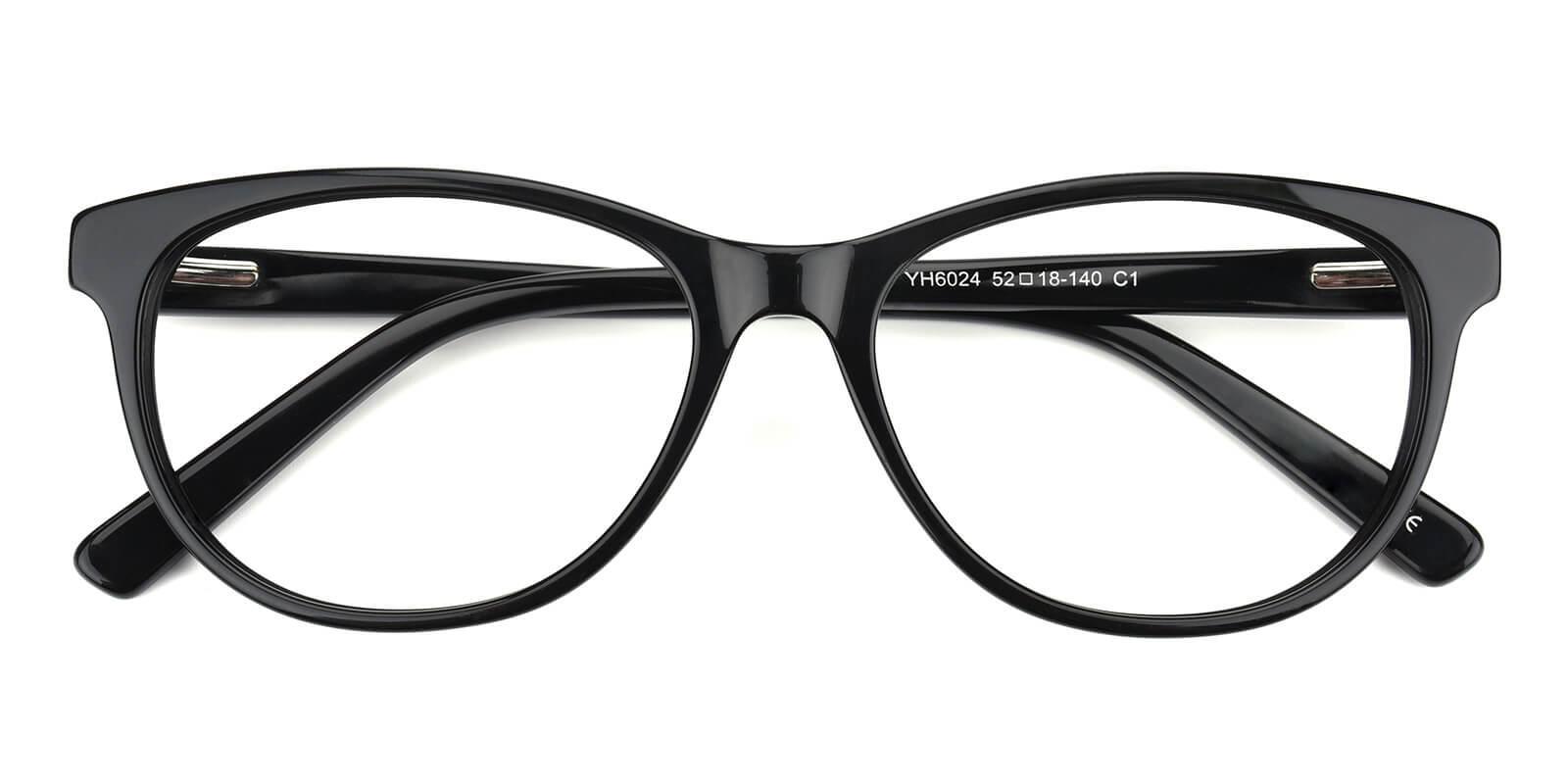 Neptunus-Black-Cat-Acetate-Eyeglasses-detail