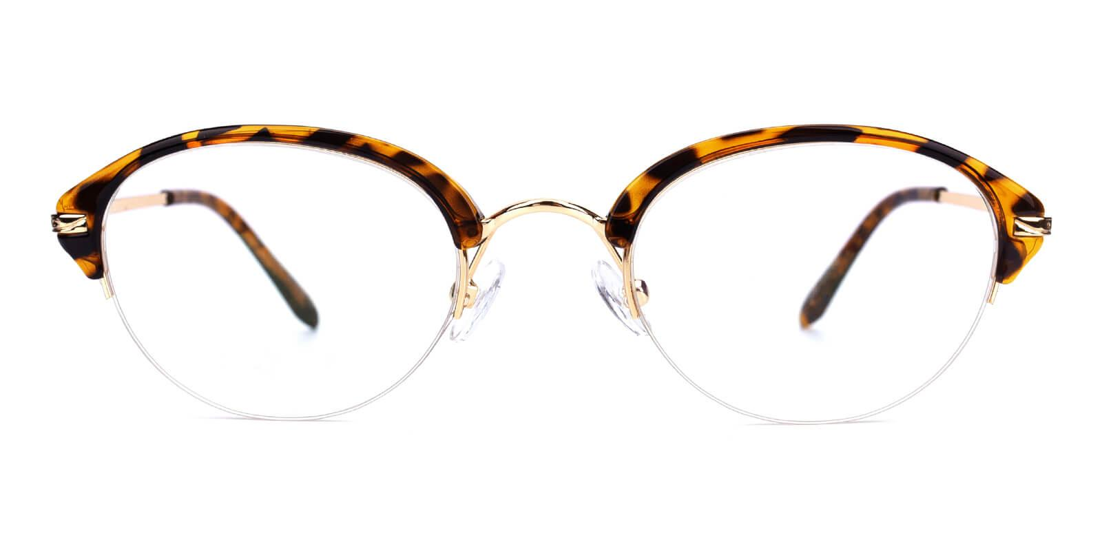 Selina-Brown-Browline-Metal / TR-Eyeglasses-additional2