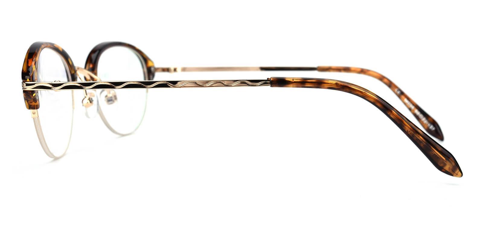 Selina-Brown-Browline-Metal / TR-Eyeglasses-additional3