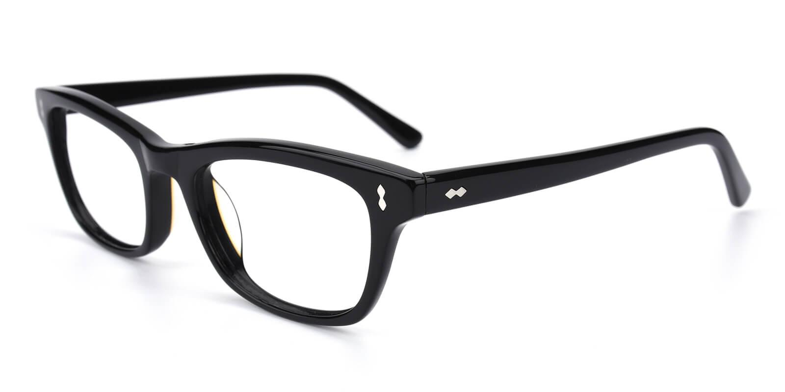 Leavary-Black-Rectangle-Acetate-Eyeglasses-detail