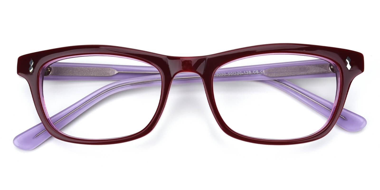 Leavary-Purple-Rectangle-Acetate-Eyeglasses-detail