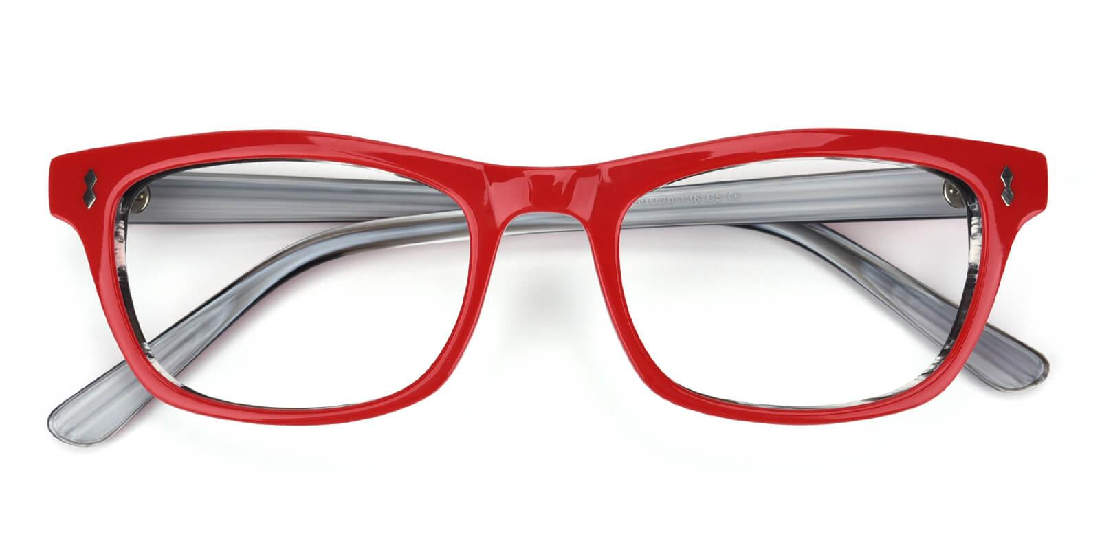 Leavary-Red-Rectangle-Acetate-Eyeglasses-detail