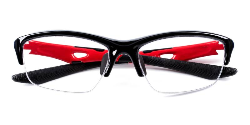 Philips-Red-NosePads / SportsGlasses