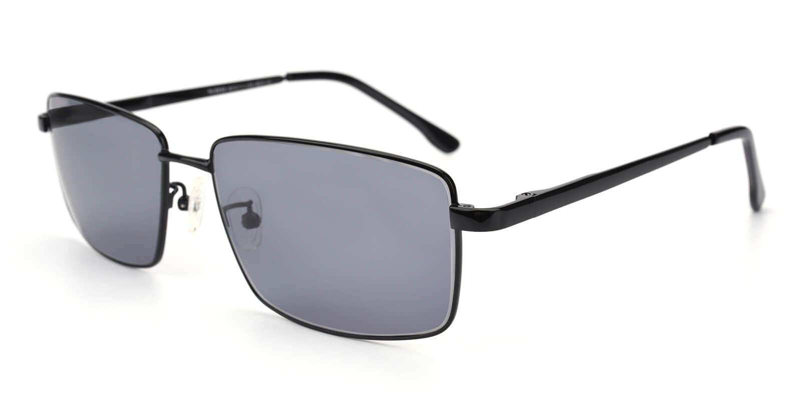 Sea-Black-Rectangle-Metal-Sunglasses-additional1