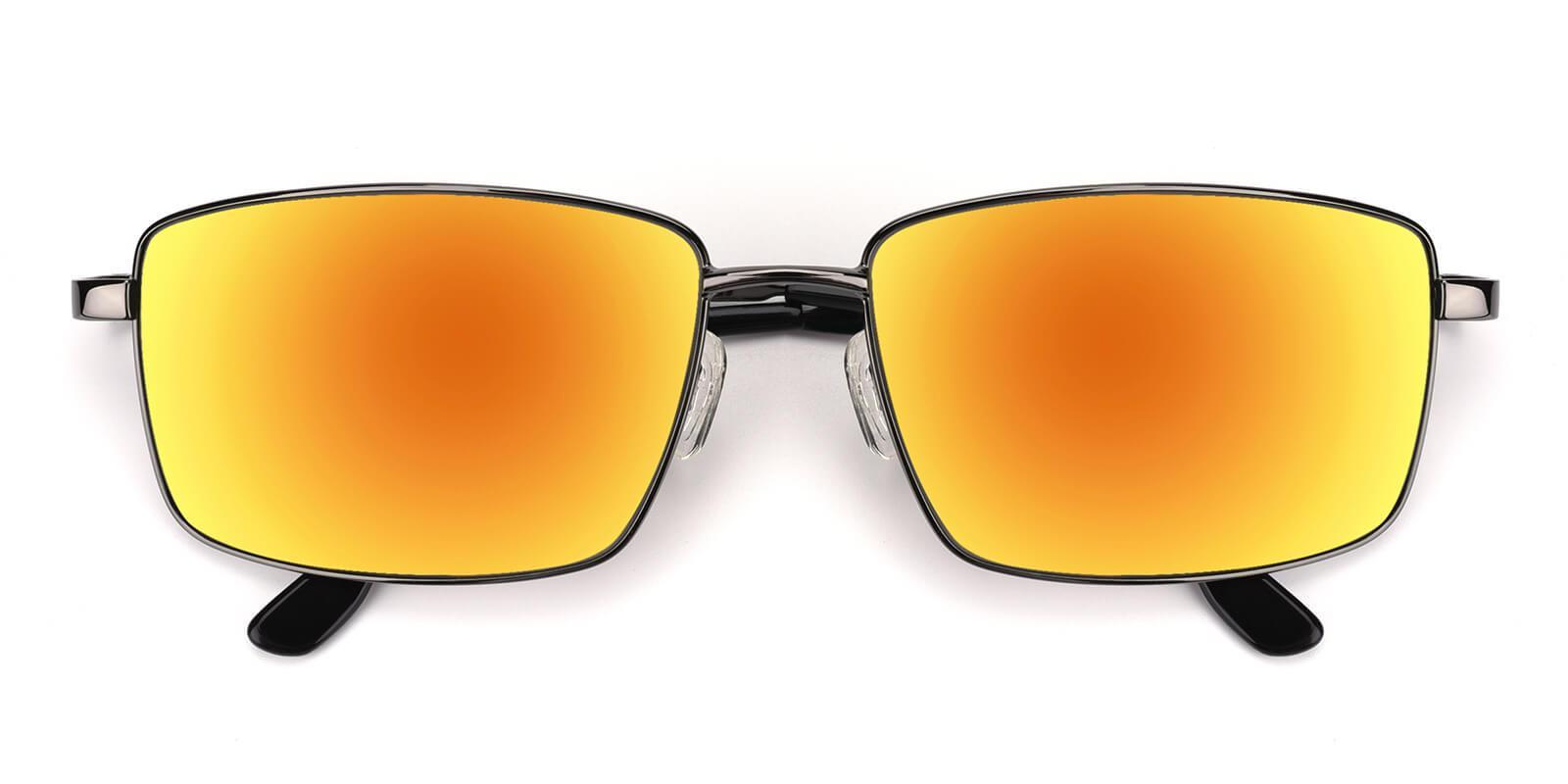 Sea-Gun-Rectangle-Metal-Sunglasses-detail