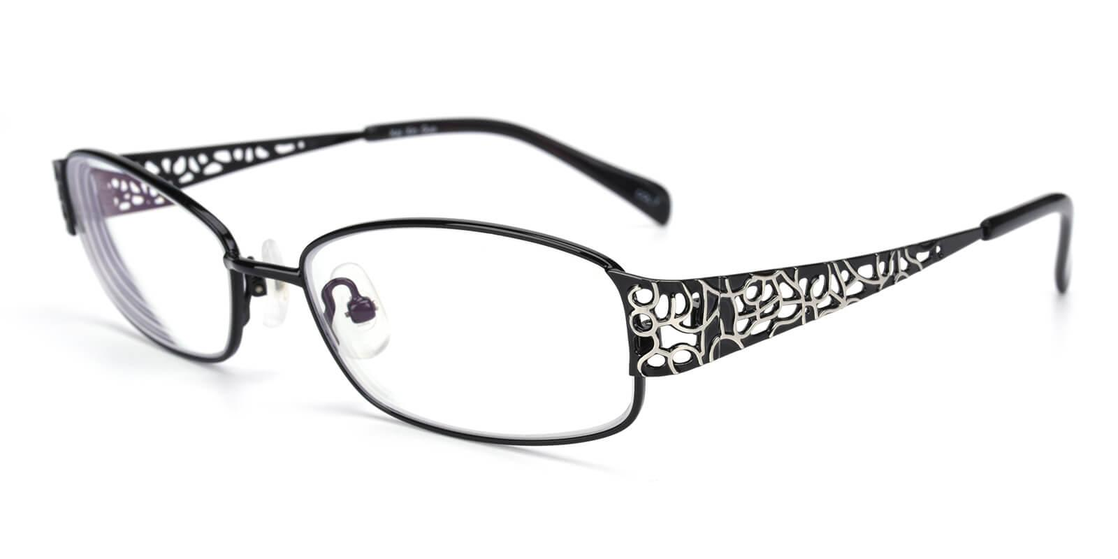Hollowing-Black-Rectangle-Metal-Eyeglasses-additional1