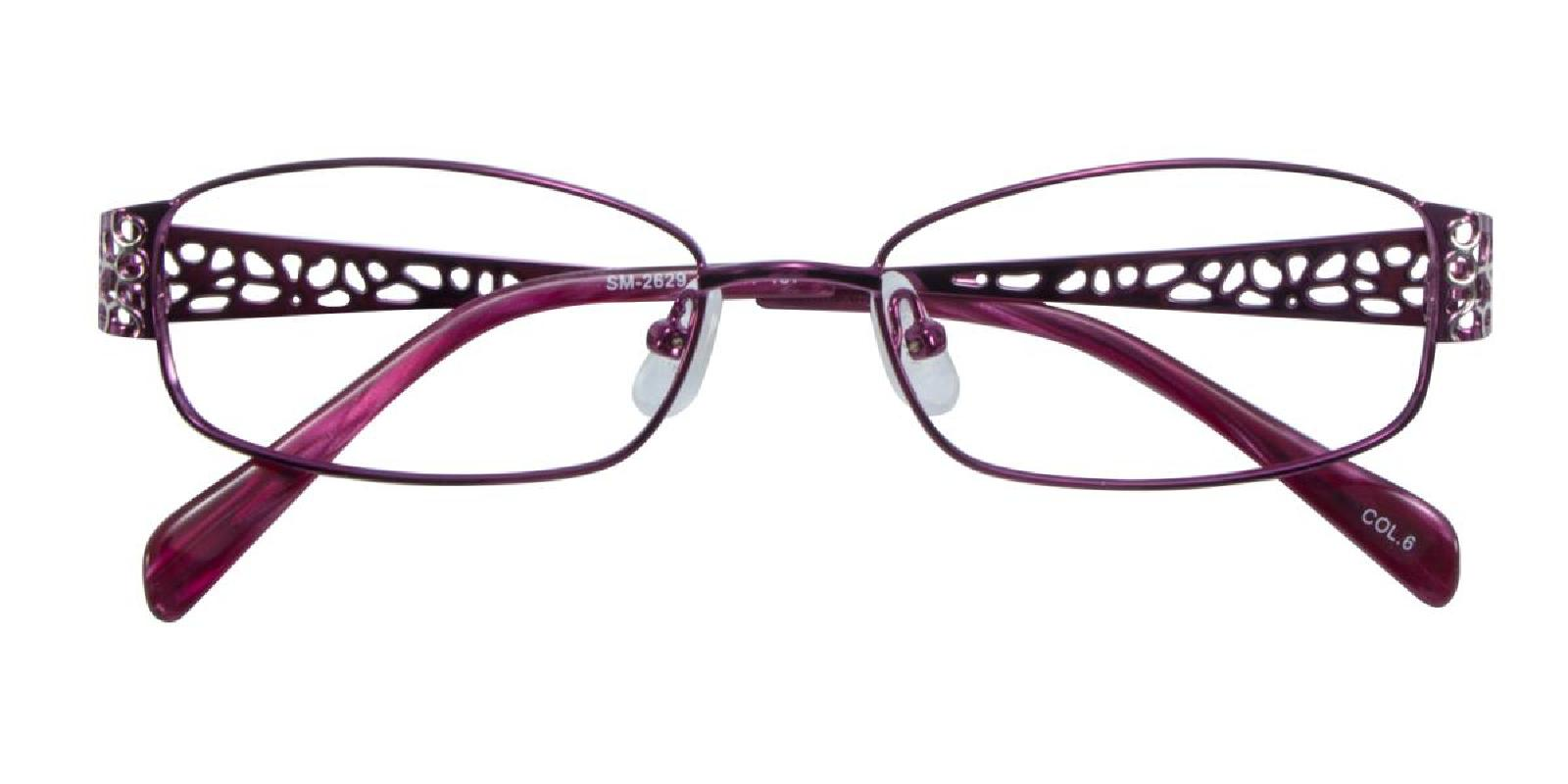 Hollowing-Purple-Rectangle-Metal-Eyeglasses-additional2