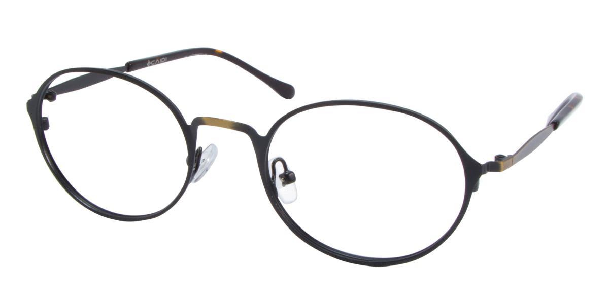 Ottoto-Gun-Oval-Metal-Eyeglasses-detail