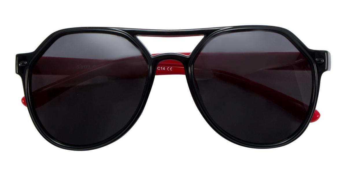 Cartoon-Black-Aviator-TR-Sunglasses-detail