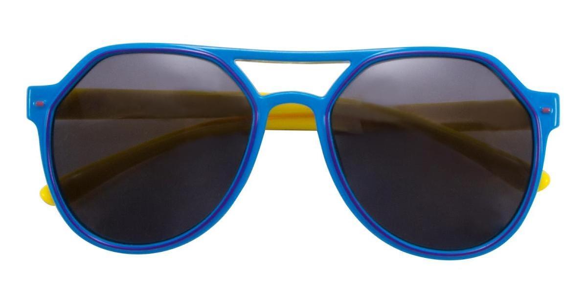 Cartoon-Blue-Aviator-TR-Sunglasses-detail
