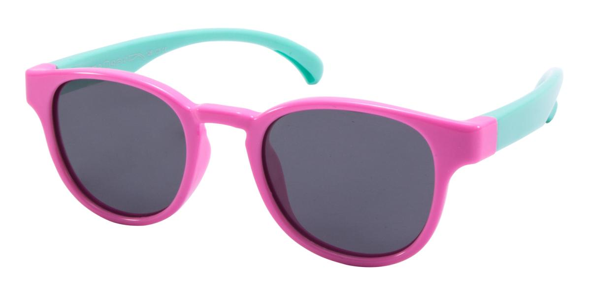 Candy-Pink-Oval-TR-Sunglasses-detail