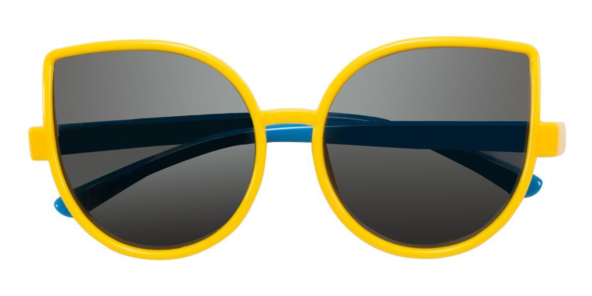 Brain-Yellow-Cat-TR-Sunglasses-detail