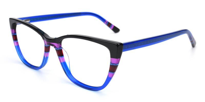 Bblythe-Blue-Eyeglasses / Fashion / SpringHinges / UniversalBridgeFit