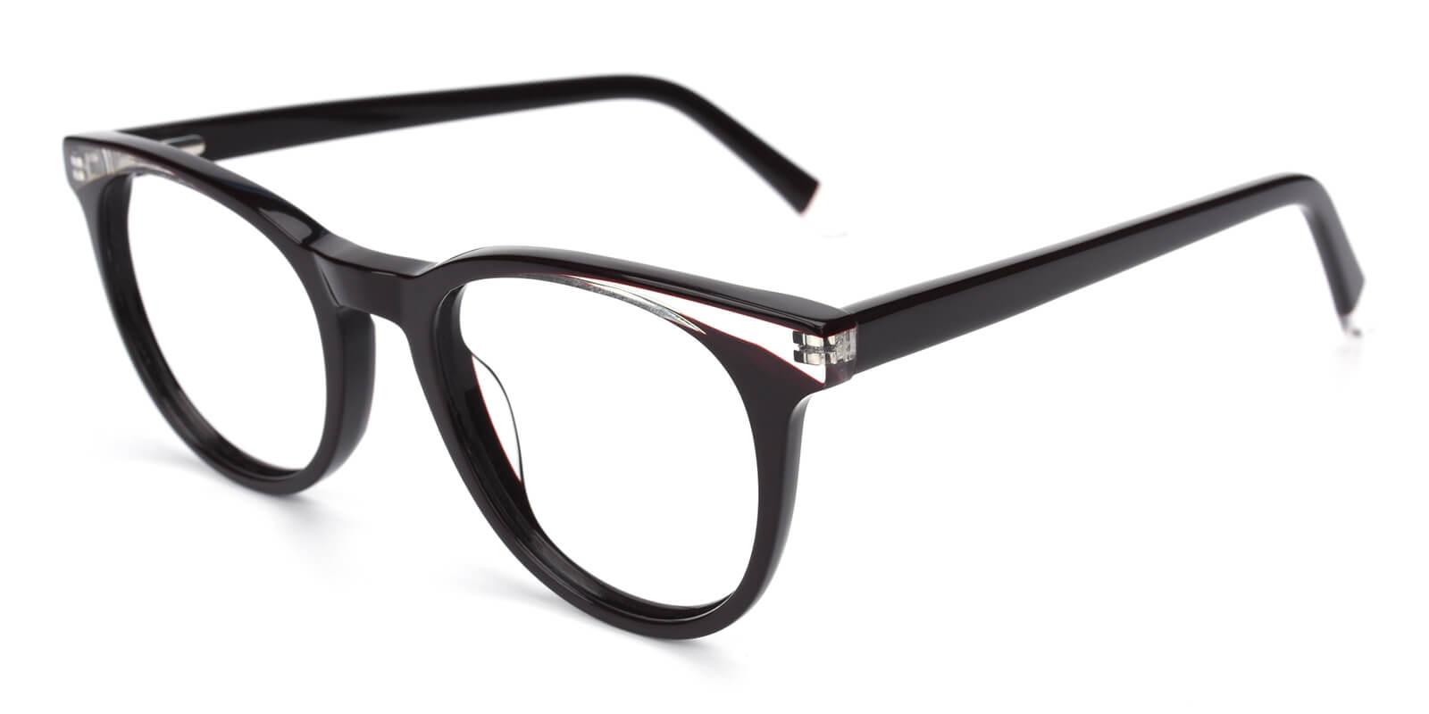 Clementine-Black-Oval / Cat-Acetate-Eyeglasses-additional1