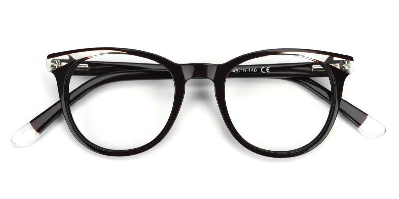 Clementine-Black-Eyeglasses