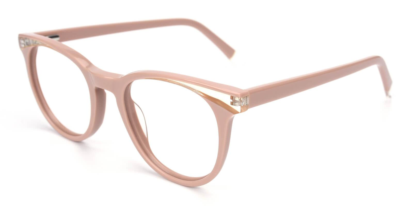 Clementine-Cream-Oval / Cat-Acetate-Eyeglasses-additional1