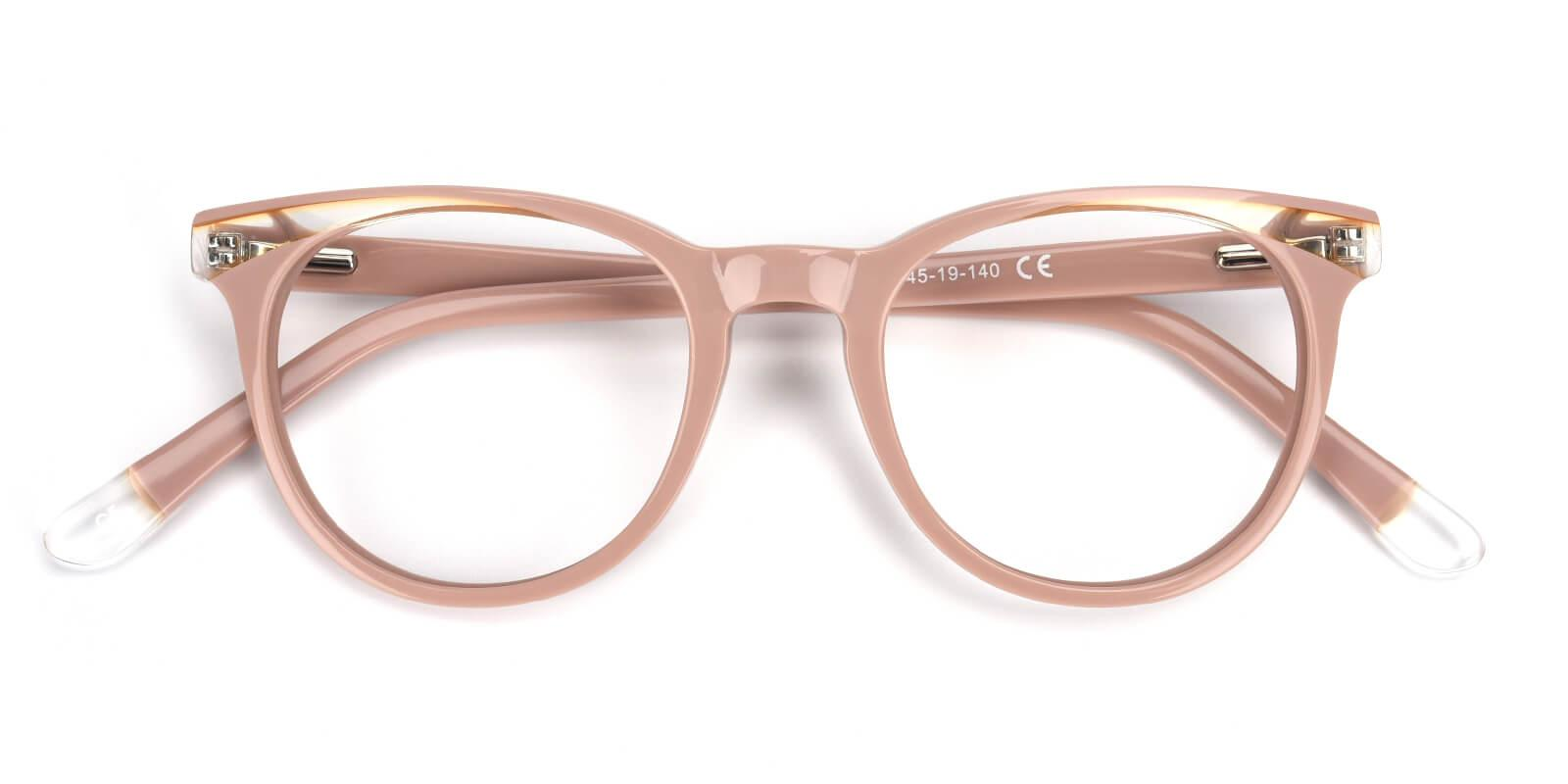 Clementine-Cream-Oval / Cat-Acetate-Eyeglasses-detail