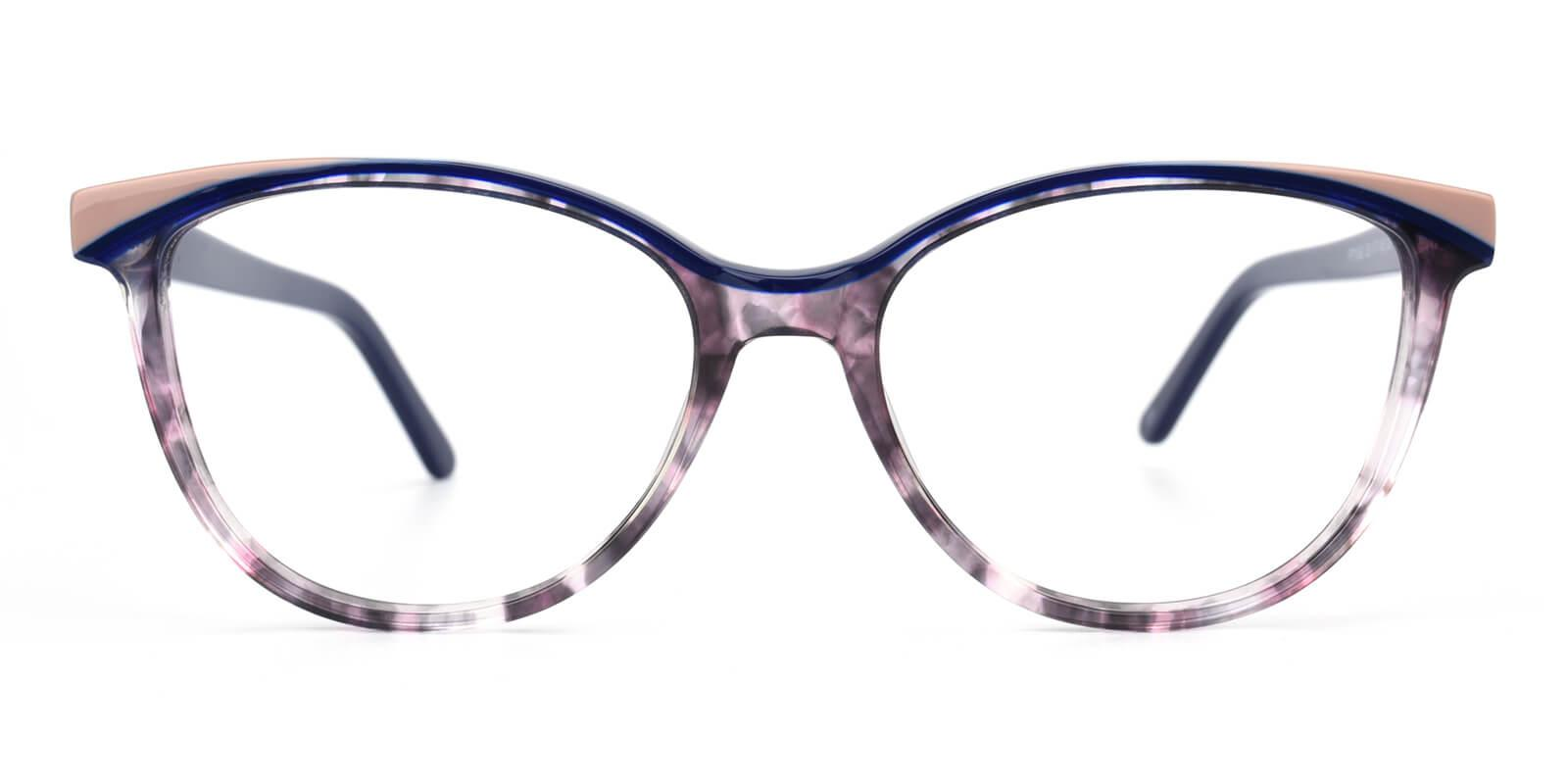 Cynthialy-Blue-Oval / Cat-Acetate-Eyeglasses-additional2
