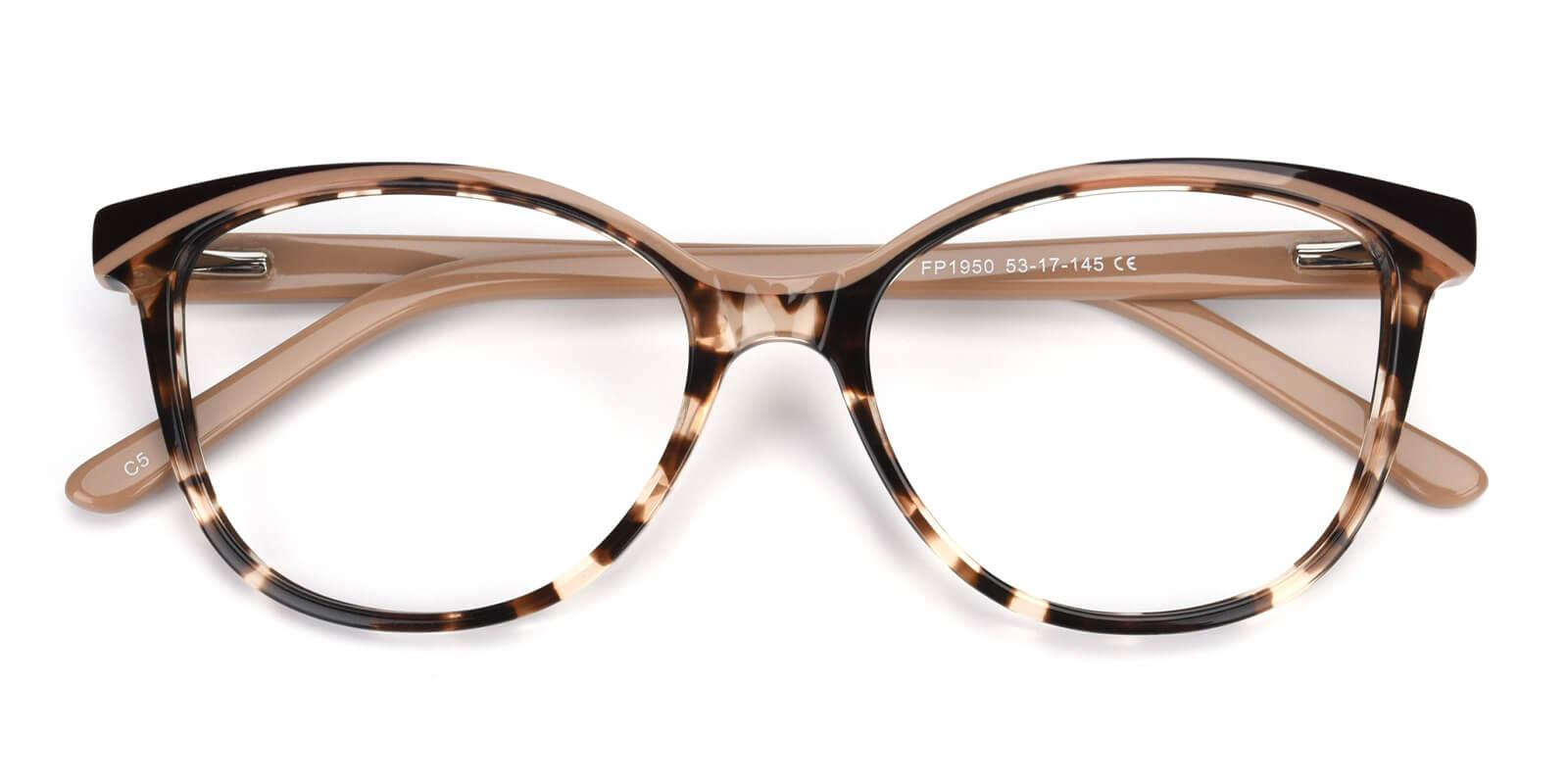 Cynthialy-Brown-Oval / Cat-Acetate-Eyeglasses-detail