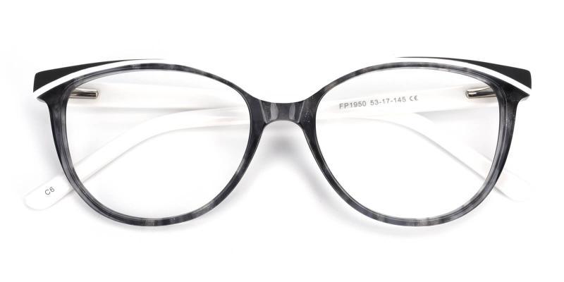 Cynthialy-White-Eyeglasses