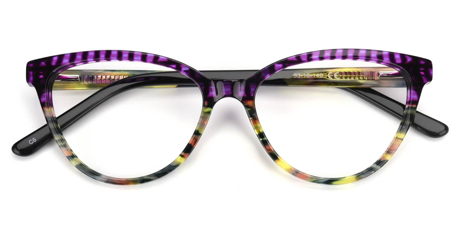 Daphnely-Purple-Cat-Acetate-Eyeglasses-detail