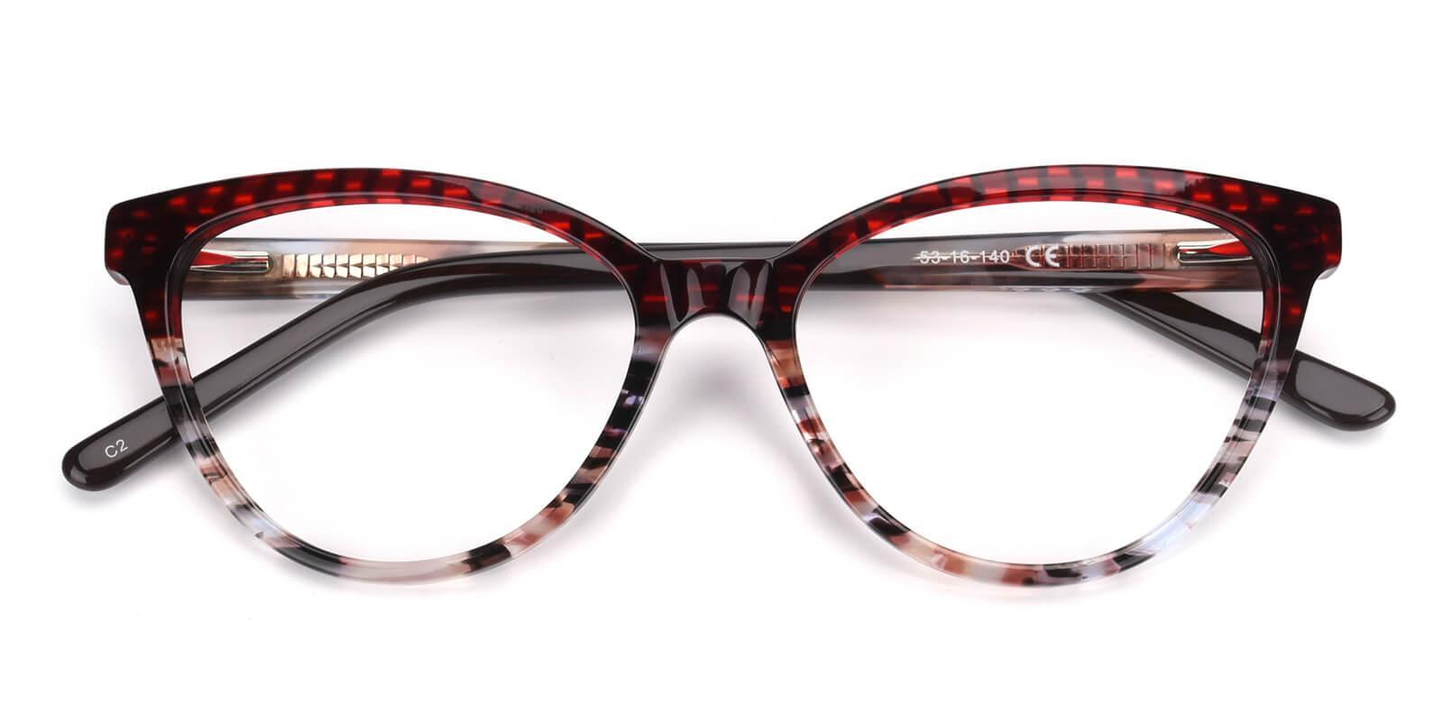 Daphnely-Red-Cat-Acetate-Eyeglasses-detail
